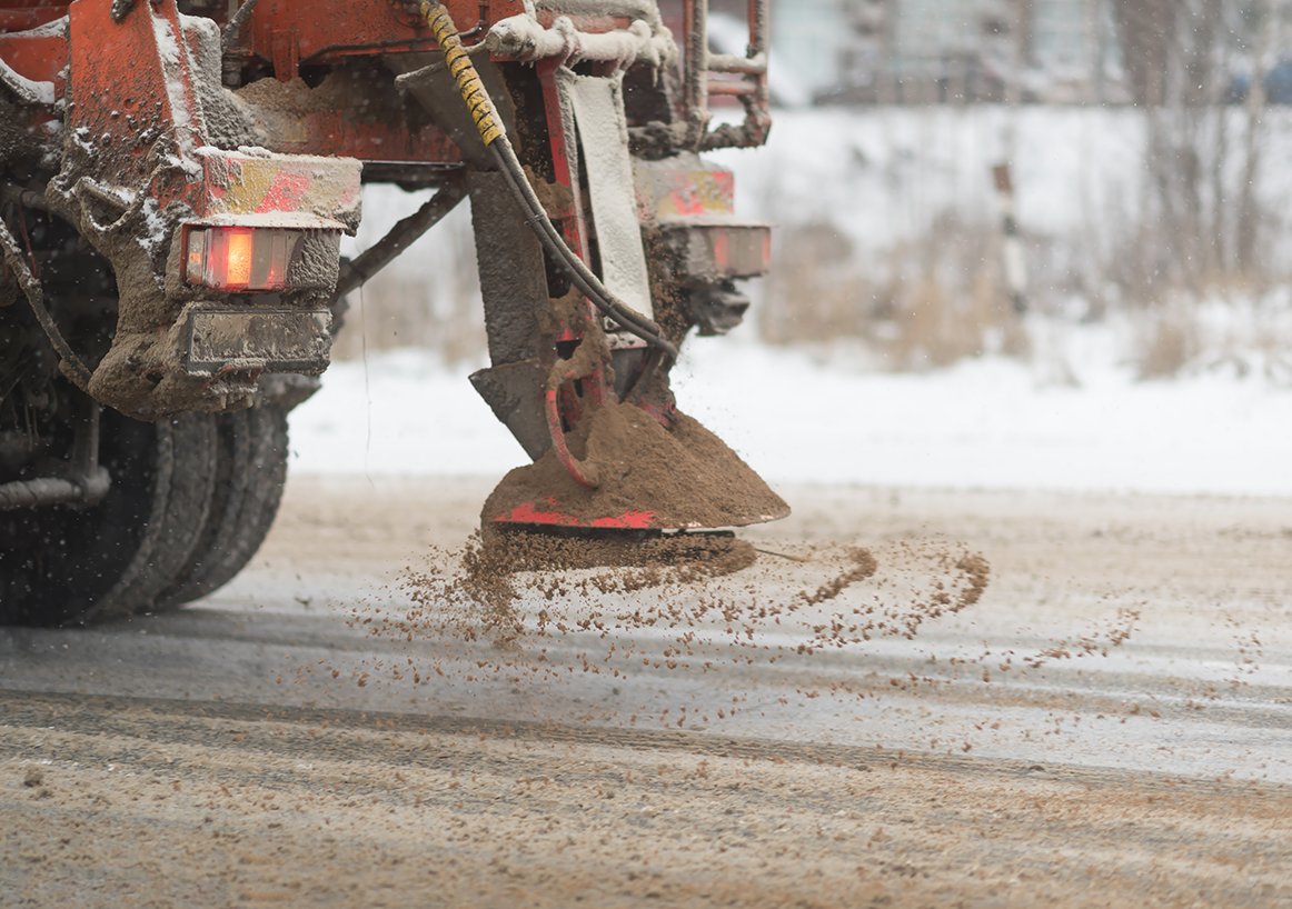 Gritter Distributing Brown Rock Salt